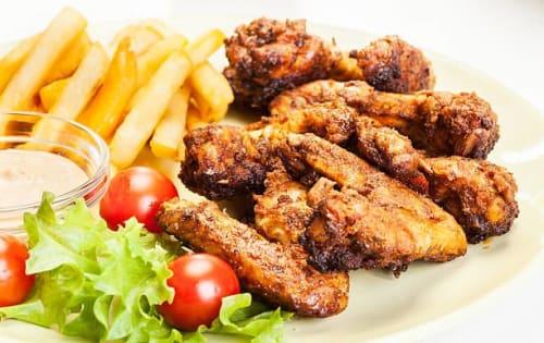 Chicken Fry with Bone - Sargun Indian Tandoori
