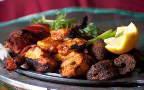 Tandoori Mixed Platter - Sargun Indian Tandoori