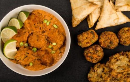 Vegetable Platter - Sargun Indian Tandoori