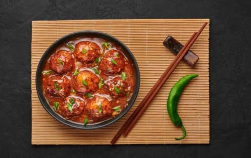 Veg Manchurian (Gravy or Dry) - Sargun Indian Tandoori