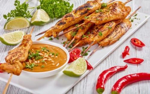Kalmi Kebabs (5 Piece) - Sargun Indian Tandoori
