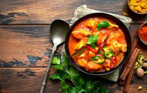 Chicken Chilli Masala Curry - Sargun Indian Tandoori