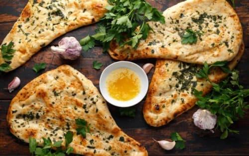 Cheese Naan Garlic - Sargun Indian Tandoori