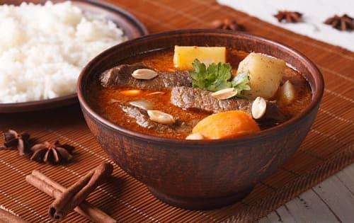 Beef Curry (Harak Mas Mirisata) - Upalis Melbourne