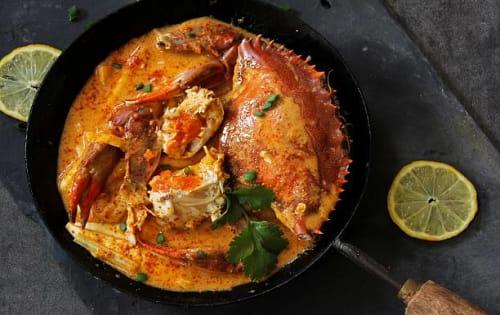 Crab Curry (Kakuluwo Mirisata) - Upalis Melbourne