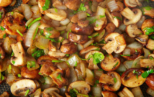 Devilled Mushrooms - Upalis Melbourne