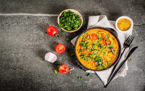 Omelette Curry (Omlet Sudata Uyala) - Upalis Melbourne