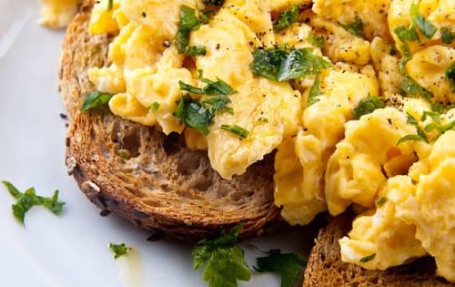 Scrambled Eggs (Bittara Beduma) - Upalis Melbourne