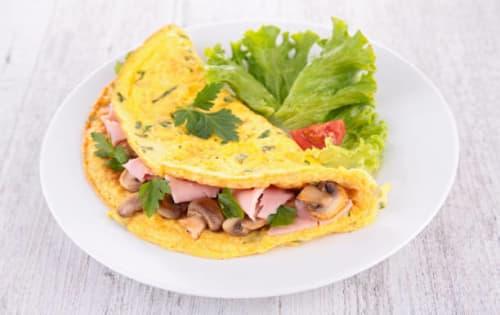 Seafood Omelette (Muhudu Kaema Omlet) - Upalis Melbourne