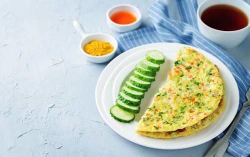 Spicy Omelette (Bittara Omlet Karala) - Upalis Melbourne