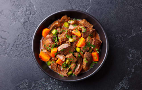 Meat Sizzling Plate (Meat Varuwal) - Upalis Melbourne