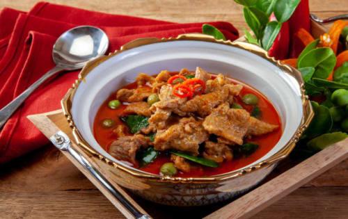 Pork Curry (Uru Mas Mirisata) - Upalis Melbourne