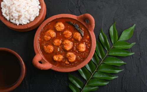 Black or Red Prawn Curry - Upalis Melbourne
