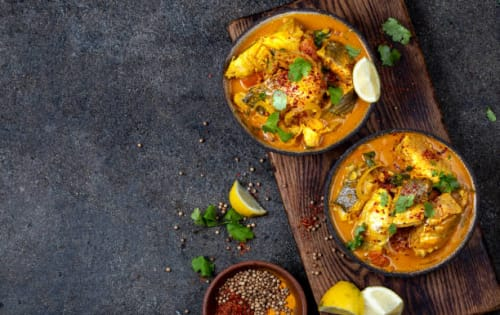 Dry Fish Curry (Matara Maalu Ambul Thiyal) - Upalis Melbourne