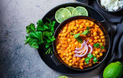 Chickpea Curry (Kadala Rathata Uyala) - Upalis Melbourne