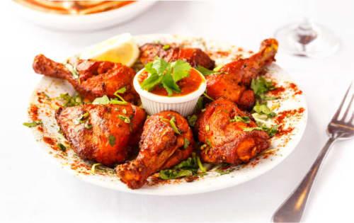 Tandoori Chicken - Welcome Indian Restaurant