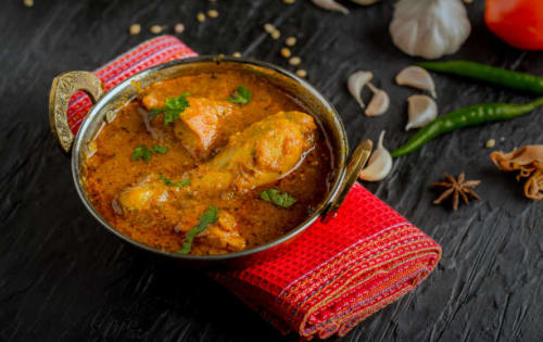 Malabar chicken   Blend of Curries   Masala Bar And Grill