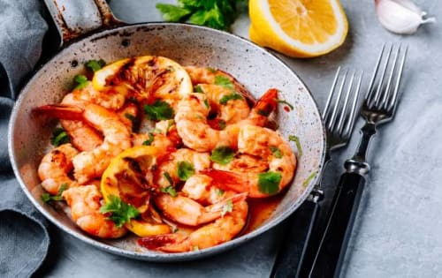 Chilli Prawn | Entrée Dish | Masala Bar And Grill
