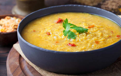 Dal Tadka   Blend of Curries   Masala Bar And Grill