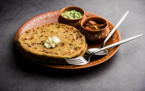 Paratha – aloo & paneer mix - Masala Bar And Grill