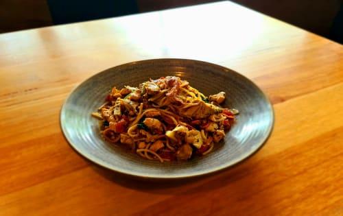 Spaghetti Carciofini - Shanikas Berwick