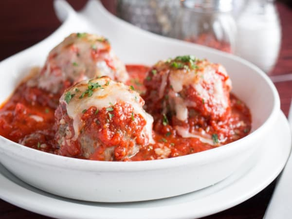Polpette (Meatballs entree) | Starters Dish | Michelangelo's Aspendale Gardens