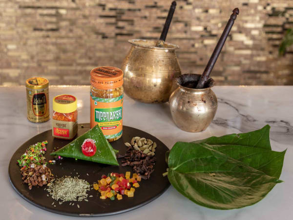 Kolkatta Meetha Paan | Dessert & Paan | Masala Bar And Grill