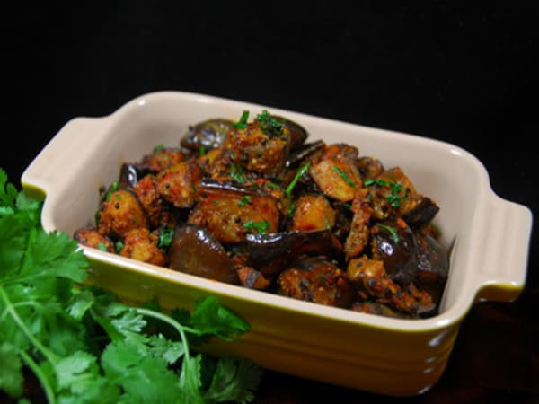 Egg Plant Masala | Blend of Curries | Masala Bar And Grill