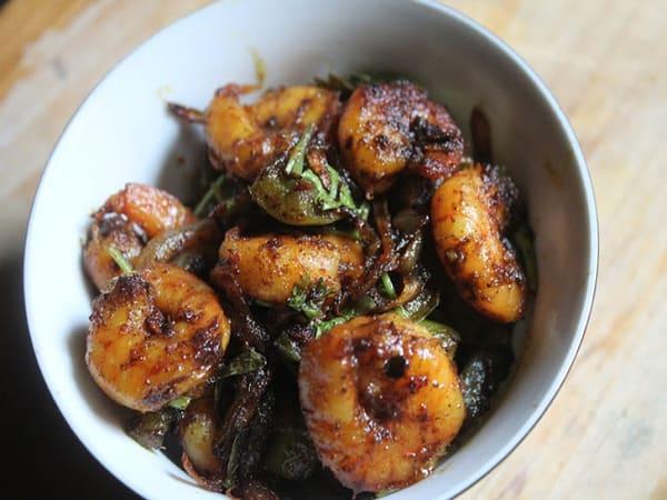 Prawn pepper fry - Masala Bar And Grill