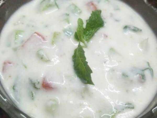 Cucumber raita - Masala Bar And Grill