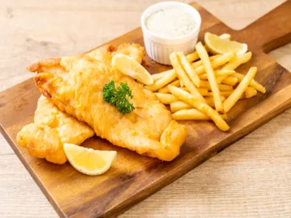 Fish & Chips - Masala Bar And Grill
