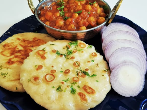 Kulcha Chole | Lunch Menu | Masala Bar And Grill