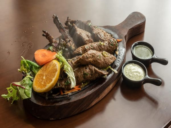 Seekh Kebab - Masala Bar And Grill