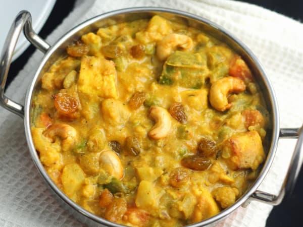 Navratan Korma   Blend of Curries   Masala Bar And Grill