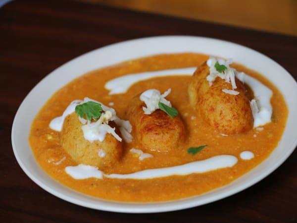 Nargisi Kofta | Blend of Curries | Masala Bar And Grill