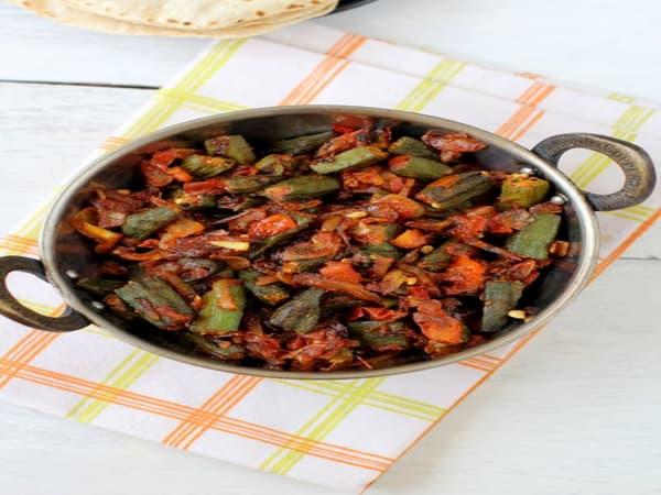Bhindi Masala | Blend of Curries | Masala Bar And Grill