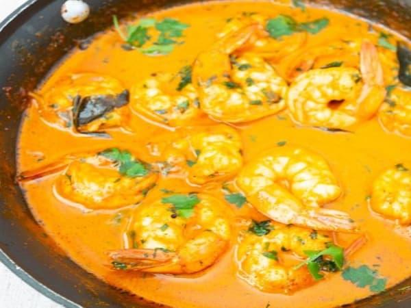 Masala Bar Prawn curry - Masala Bar And Grill