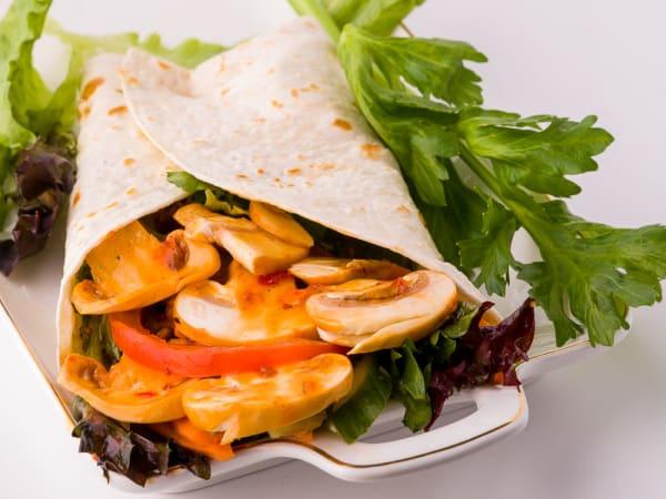 Veg Wrap - FKC - The Fusion Food
