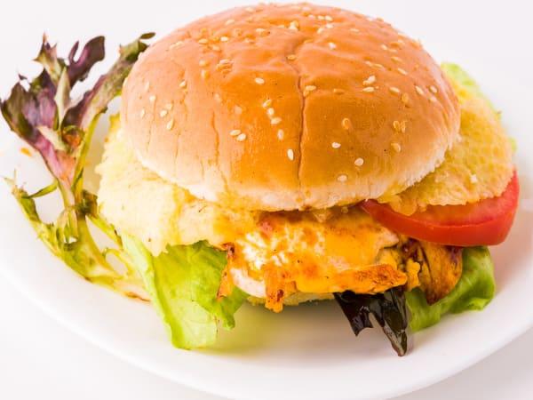 Egg Burger  - FKC - The Fusion Food