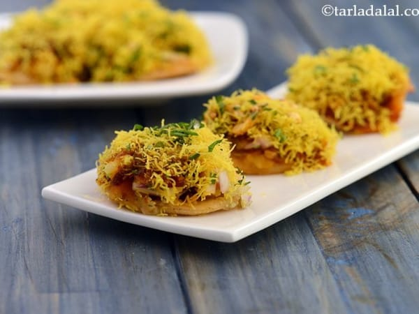 Sev Puri (5pcs) - Welcome Indian Restaurant