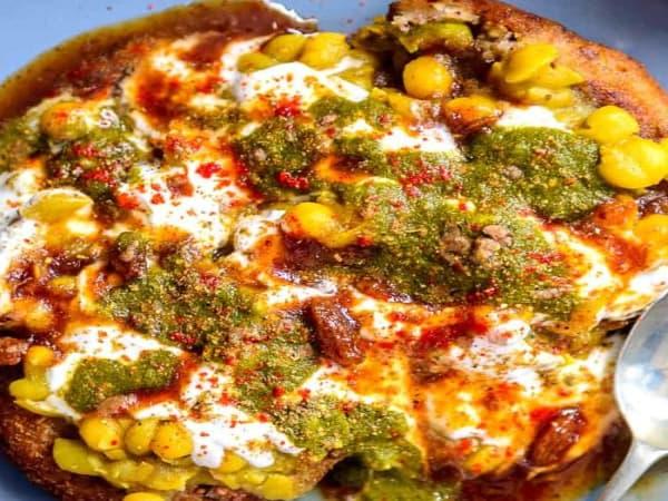 Aloo Tikki Dahi Chat - Welcome Indian Restaurant