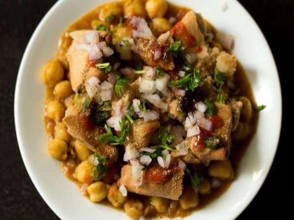 Samosa Chana Chat - Welcome Indian Restaurant