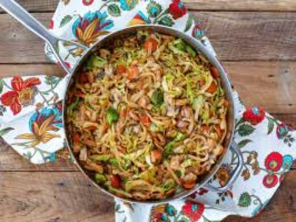 Veg Noodles - Welcome Indian Restaurant