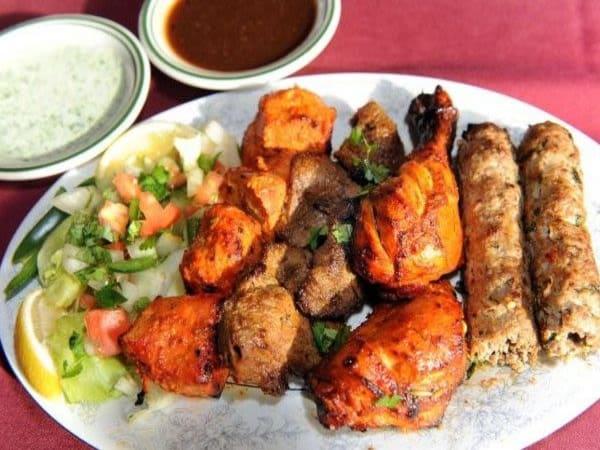 Tandoori Platter (8 pcs) - Welcome Indian Restaurant