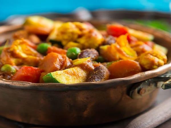 Veg Vindaloo (Hot) - Welcome Indian Restaurant