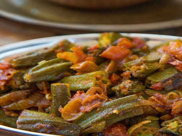 Bhindi Masala  - Welcome Indian Restaurant