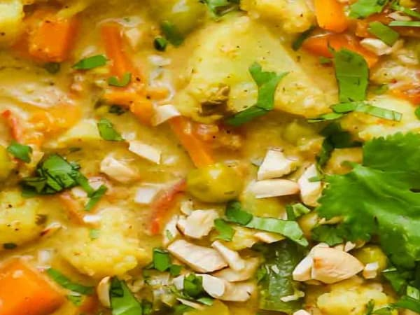 Mix Vegetable Korma  - Welcome Indian Restaurant
