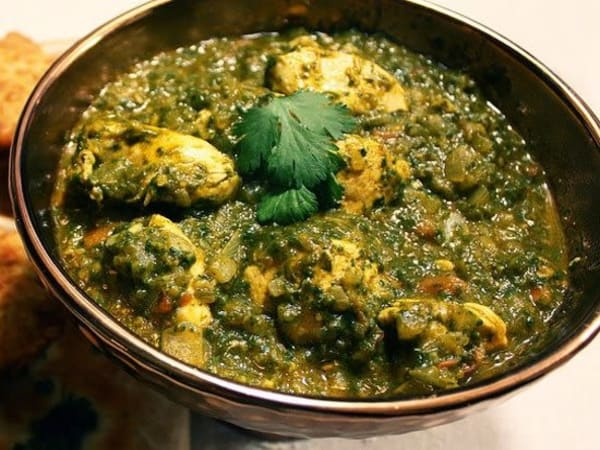 Chicken Saag Wala - Welcome Indian Restaurant