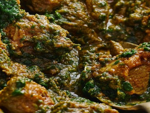 Lamb Spinach - Welcome Indian Restaurant