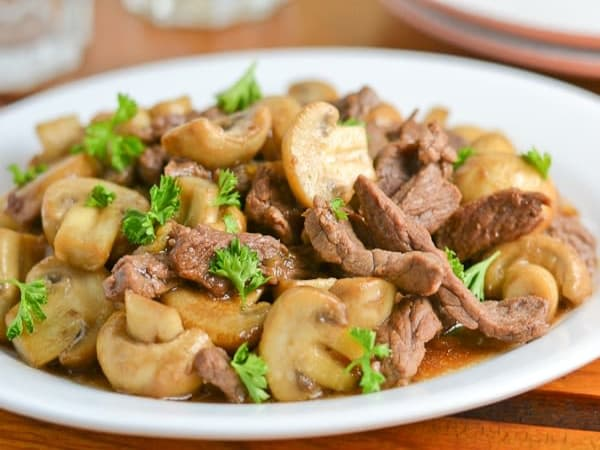 Beef Mushroom - Welcome Indian Restaurant